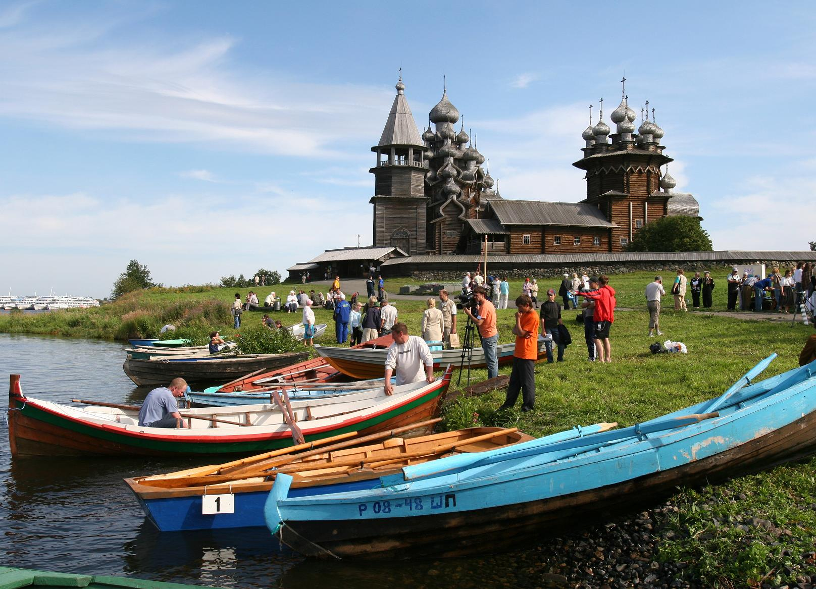 "Festival of Traditional Shipbuilding ""Kizhi Regatta"""