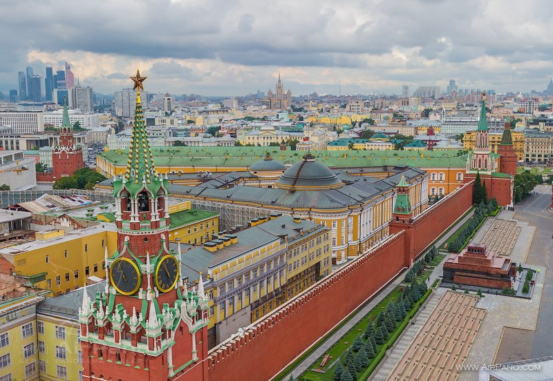 Moscow Kremlin Russia in 360 VR 03