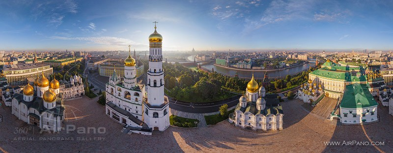 Moscow Kremlin Russia in 360 VR